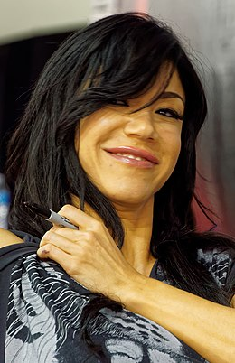 Rosa Mendes at WM31 Axxess.jpg
