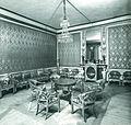 Rosensberg Castle, Red Salon in about 1900.jpg