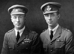 Keith Macpherson Smith - Capt. Ross (left) and Lieut. Keith (right) Smith in 1921.