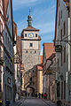 Rothenburg ob der Tauber, Stadtbefestigung, Weißer Turm, Stadtseite-20160108-001.jpg