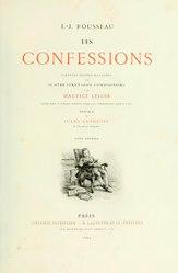 Jean-Jacques Rousseau: Les Confessions