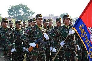 Royal Cambodian Army - Royal Cambodian Army Soldiers