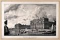 Royal Naval Hospital, Greenwich, from a boat in the river, w Wellcome V0013314.jpg