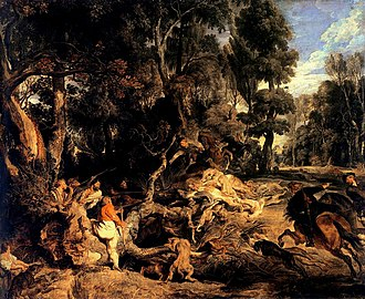 The Hippopotamus and Crocodile Hunt - Image: Rubens Wild Boar Hunt