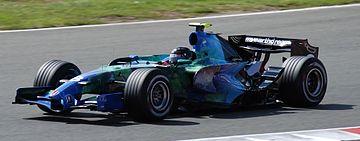 Rubens Barrichello 2007 Britain 2