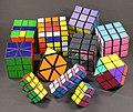 Rubik's Cube Collection (4032144165).jpg