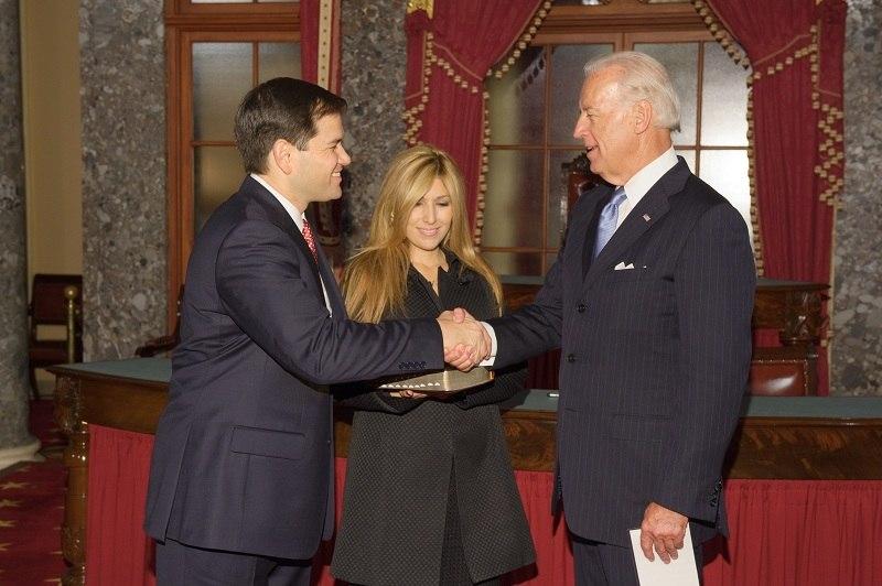 Rubio Sworn In