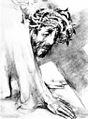 Rudolf Heinisch, Kreuzweg - III. Christus stürzt zu Boden, 1945.jpeg