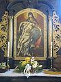 Rudziniec, kościół św. Michała Archanioła, ołtarz boczny prawy.JPG