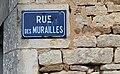 Rue des Murailles à Trucy-l'Orgueilleux (juillet 2019) - panneau de rue.jpg
