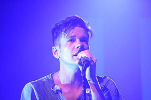 Nate Ruess - Ruess performing in Tucson, Arizona in March 2012.