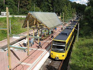 Stuttgart Stadtbahn - Ruhbank Stadtbahn station