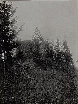 Monument to the Unknown Hero - Image: Ruine am Avala. Oktober 1915. (Bild ID 15454216)