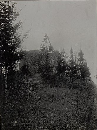 Monument to the Unknown Hero - Image: Ruine am Avala. Oktober 1915. (Bild ID 15454216)