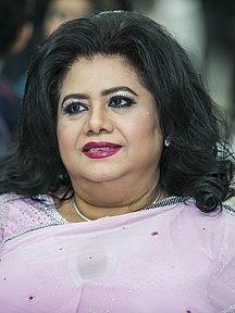 Bangladesh-Performing arts-Runa Laila on 4 July 2017 (01) (cropped)