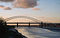 Runcorn Bridge at Sunset.jpg