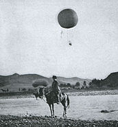 Russian Baloon in the Battle of Liaoyang 3