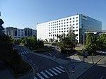 Ruzyně, letiště, parkoviště Vinci Park, Courtyard Marriott.jpg
