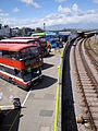Ryde bus station during Isle of Wight Festival 2011 5.JPG