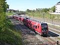 S-train line A at Svanemøllen Station 05.jpg