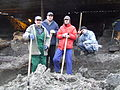 S.Kupriy A.Vasylenko V.Sayenko Kyiv Poshtova Square Archeological Excavations February-March'2015 04 (DSCF9312).jpg