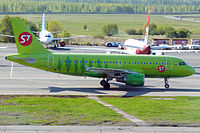 VP-BHQ - A319 - S7 Airlines