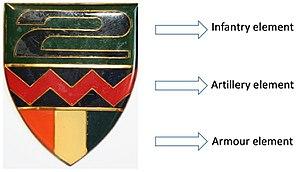 2 South African Infantry Battalion - SADF 2 SAI Battalion Group elements