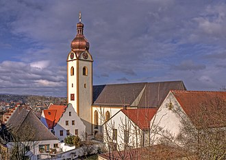 Schwandorf - Catholic parish church of St. Jakob