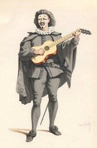 Scaramouche - Scaramuccia in 1860