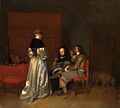 SA 1143-De vaderlijke vermaning (naar Gerard ter Borch)-De vaderlijke raadgeving.jpg