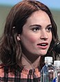 SDCC 2015 - Lily James (19536840548) (cropped).jpg