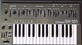 Arturia MiniBrute - The ability to mix wave shapes on a single oscillator recalls the Roland SH-101.