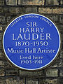 SIR HARRY LAUDER 1870-1950 Music Hall Artiste lived here 1903-1911.jpg