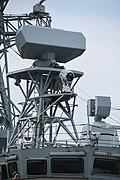 SMART-S Mk2 3D radar on board mast of HMCS Ottawa(FFH-341) left side view at JMSDF Maizuru Naval Base August 24, 2019 19.jpg