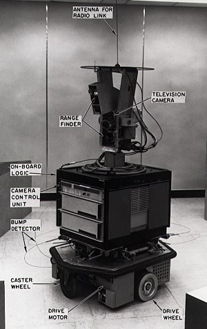 Shakey the robot - Shakey in 1972