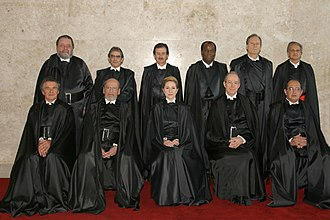Supreme Federal Court - Image: STF of Brazil in 2006