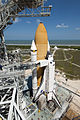 STS-133 Discovery on Launch Pad 39A close.jpg