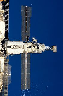 Kvant-2 module of the MIR space station