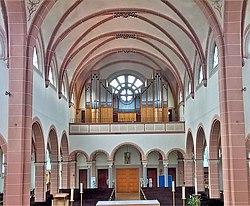Saarbrücken-Burbach, Herz Jesu (Mayer-Orgel, Prospekt) (6).jpg