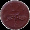 Sachsen, 1921, 20Pf, Ähren und Sichel, Keramik b.png