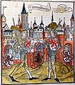 Sachsenchronik Bote 1492 Ritter der Lilienvente (Stadtbibliothek Braunschweig).JPG