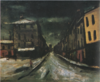 SaekiYūzō-1925-Snow Scene in Paris.png