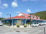 Saint-Barthélemy — Gustavia — Post office (corner and signs).JPG