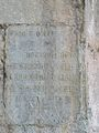 Saint-Bertrand-de-Comminges cloître inscription.JPG