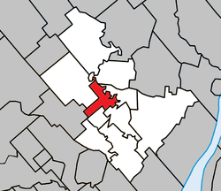 Location within Joliette RCM.