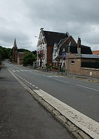 Saint-Léger (62) - Rue de Vaulx-Vraucourt.JPG