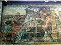 Saint-Quentin (02), basilique St-Quentin, collatéral sud du chœur, 1ère chapelle, peinture murale - l'Adoration des bergers.jpg