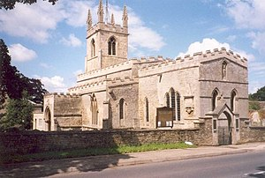 Great Casterton - Image: Saint Peter and Paul's Church, Great Casterton geograph.org.uk 732997