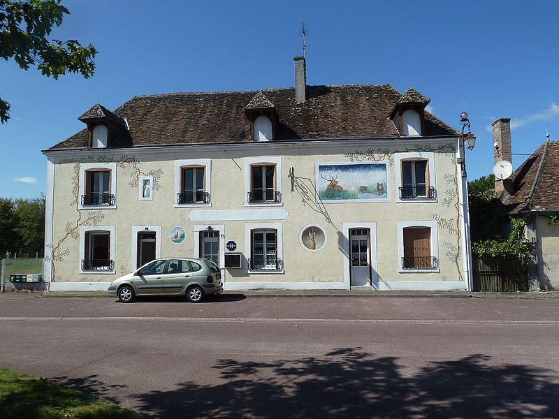Sainte-Montaine département du Cher).- Région  Centre-Val_de_Loire France