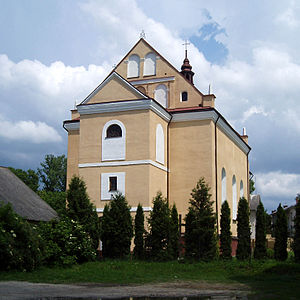 Yavoriv - Image: Saints Peter and Paul church, Yavoriv (02)